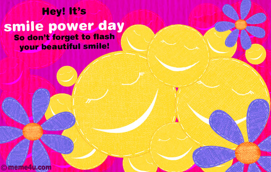 How to celebrate Power of a Smile Day