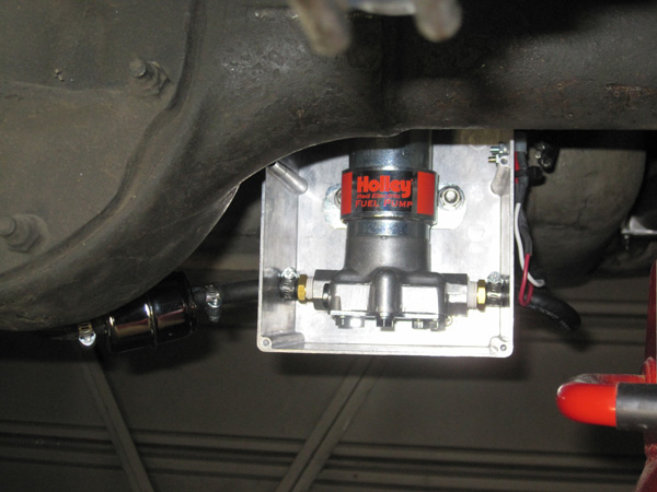 how to replace an electric fuel pump