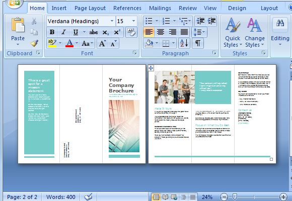 How To Create Your Brochure Templates